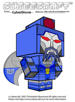 Cubeecraft - Scourge 'G1' by CyberDrone