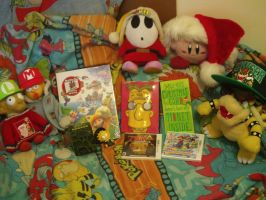 My Christmas Presents 2013 by MarioSimpson1