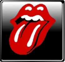 Rolling Stones Badge by The-Dogfather