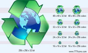Recycling Icon by jpeger
