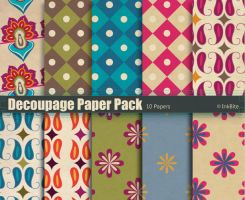 Decoupage Paper Pack by naga-pree