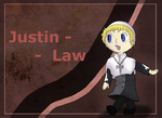 Justin Law by DarkBroken