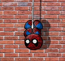 Ickle Spidey by MacNeacail