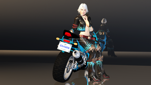 Christie Motorcycle Render by Ada-Momiji-Forever