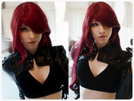 League of Legends : Katarina Cosplay WIP by HelloKot