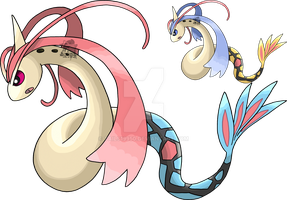 350 - Milotic by Tails19950