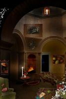The Hufflepuff Common Room by Filmchild