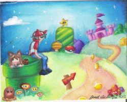 Welcome to the Mushroom Kingdom by dragonwarriorsgalore