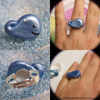 Whale Ring II by Shelby-JoJewelry