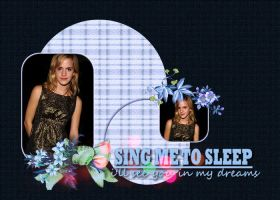 Emma Watson layout 28 by Grouve