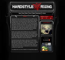 Hardstyle Rising, the site by cdctemplar