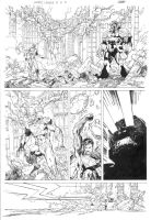 Justice League_5 pg 2 by JoeWeems5