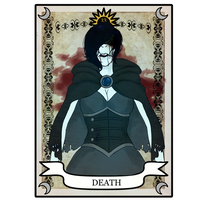 Nadya Tarot Card Meme- Death by rayne-storme