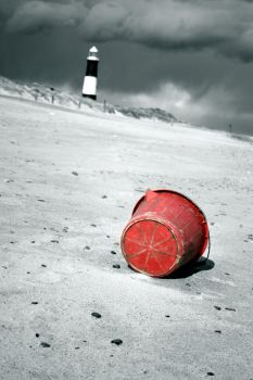 red bucket by miskin83