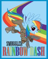 Smuggler Rainbow Dash by Bouxn