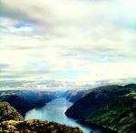 View from Pulpit Rock by djevellama