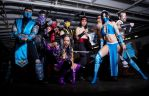 Mortal Kombat Group by gnbcosplay