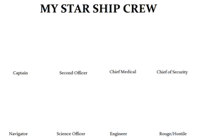 Create Your Own Starship Crew by Mr-Wolfman-Thomas