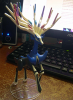 Xerneas Model by Amity-And-Sorrow