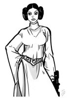 Princess Leia by grantgoboom
