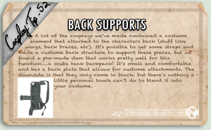 Cosplay Tip 52 - Back Supports by Bllacksheep