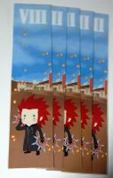 kingdom hearts Axel bookmark by knil-maloon