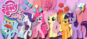 My Little Pony Banner by trippytwix