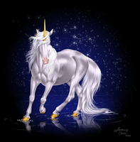.:Unicorn:. by PeaBlueJr
