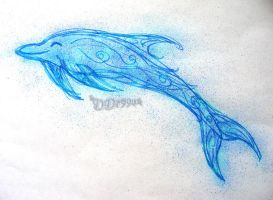 Airbrush Marker Dolphin by DD7990