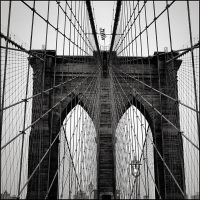 Brooklyn Bridge by aponom