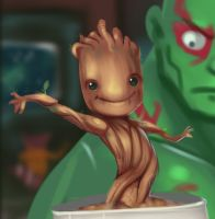We are Groot by DiosL
