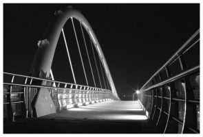 somewhere in the night b and w by malaga4