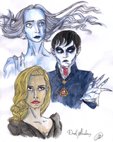 Ghosts, Witches and Vampires by DemonCartoonist