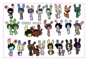 Bunny collection by pookat