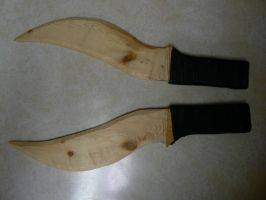 JediGuy1490's Knives Finished by steam-marc