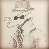The Invisible Man by lilspoon