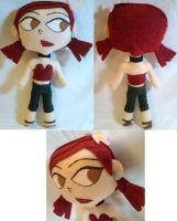 Commission - Zoey TDRotI MiniChibi Plush by mihijime