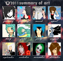 2011 summary of art by breathless-hope