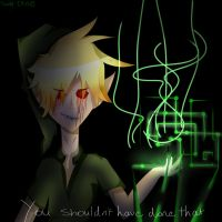 You shouldnt have done that.... (BEN drowned) by Sanity-Paints