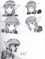 Kisshu's Expressions by AngecondaBite