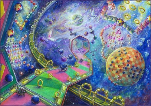 The Frontier World (Warps of Confusion). by Liris-san