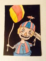 Balloon Boy by HaleyKlineArt
