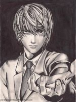 ..:Light Yagami:.. by paranoiaPRODIGY
