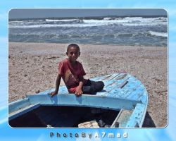 Boy on Boat by BooTuM