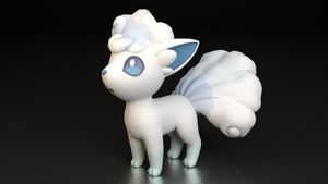 #037. Vulpix (Alola) by TheAdorableOshawott