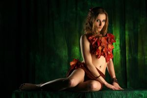 wood fairy, dryad II by gestiefeltekatze