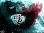 Blood on the Pavement by Mad-Hattie