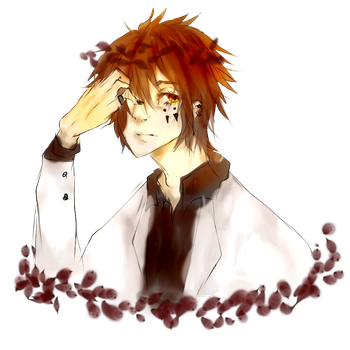 Brown haired shizuo part 2 by Nero-Shade