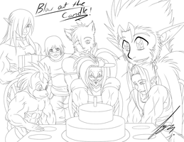 Blow Out The Candles by Juacamo