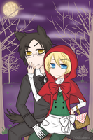Le Petit Chaperon Rouge by shiriomi